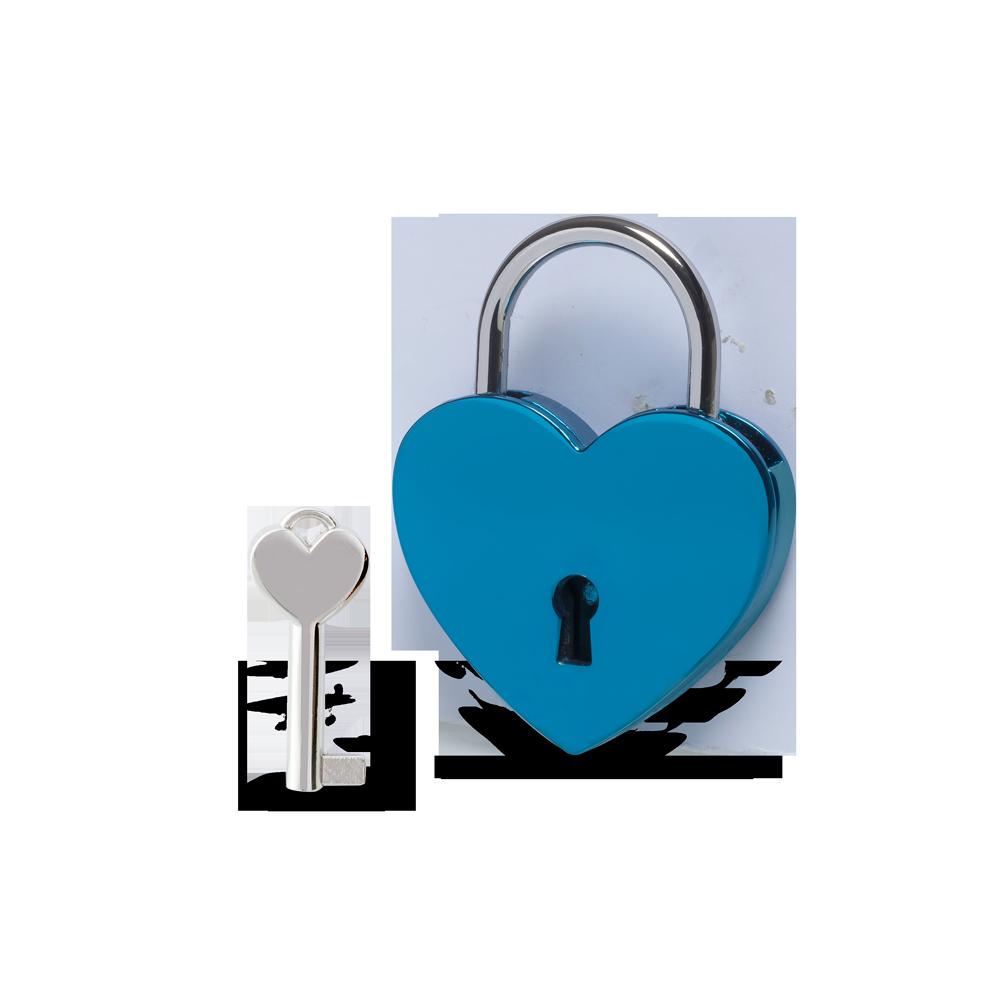 Herzschloss Blau